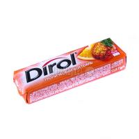 Жув.гумка Dirol Тропічний коктейль 13,6г х30