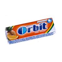 Жув.гумка Orbit White Ананас-апельсин 13,6г х30