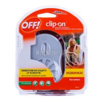 Комплект від комарів Off! Clip-on змінний катридж+прилад з фен-системою