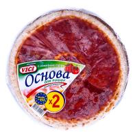 Основа Vici для піци з томатним соусом 420г х7