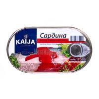 Сардина Kaija філе в томатному соусі 170г х40