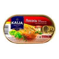 Лосось Kaija філе натуральний 170г х40