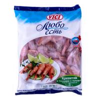 Креветки Vici Любо есть 70/90 варено-морожені 1000г