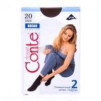 Шкарпетки Conte Tension 20 2пари p.23-25 Bronz
