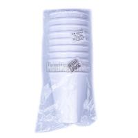 Склянки одноразові Полікап 10шт 240мл х6