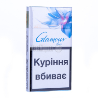 Сигарети Glamour Super Slims Azure