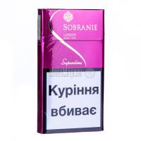 Сигарети Sobranie Super Slims Pink