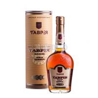 Коньяк Таврія Classic Gold Reserve XO 7 років витримки 40% 0,5л тубус