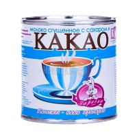 Молоко КМК Заречье згущене з цукром Какао 370г