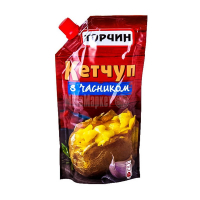 Кетчуп Торчин Продукт з часником 300г
