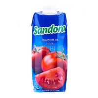 Сік Сандора томатний з сіллю 0,5л х10