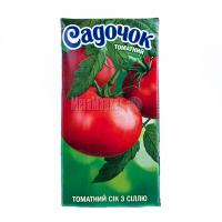 Сік Садочок томатний із сіллю 0,5л х18