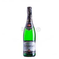 Вино ігристе КЗШВ Українське біле напівсолодке 0,75л х6