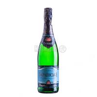 Вино ігристе КЗШВ Українське біле солодке 0,75л х6