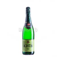Вино ігристе КЗШВ Київ біле напівсолодке 0,75л х6