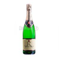 Вино ігристе КЗШВ Cuvee №1 reservoir біле напівсол.0,75л