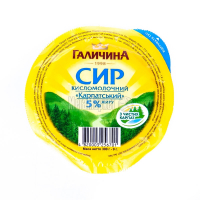 Сир Галичина кисломолочний Карпатський 5% 300г