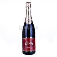 Вино ігристе Крим Червоне напівсолодке 0.75л х6