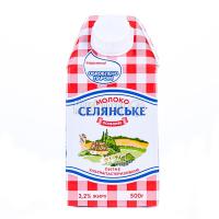 Молоко Люстдорф Селянське ультрапастеризоване 3,2% 500г х12