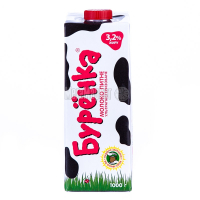 Молоко Бурьонка ультрапастеризоване 3,2% 1л