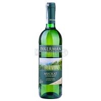 Вино Inkerman Мускат Качинский біле напівсолодке 0.75л х6
