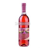 Вино Inkerman Буссо рожеве напівсолодке 0.75л