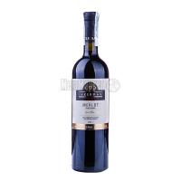 Вино Inkerman Мерло столове червоне сухе 0.75л