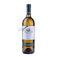 Вино Inkerman Аліготе Кримське біле сухе 0.75л