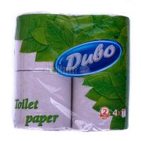 Туалетний папір макулатурний Диво, 4 шт.