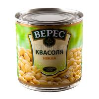 Квасоля Верес ніжна 400г ж/б