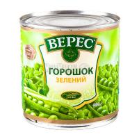 Горошок Верес зелений ж/б 420г х12