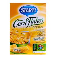 Пластівці Start кукурудзяні 375г х12