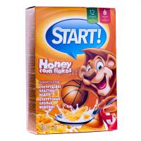 Пластівці Start кукурудзяні медові 280г х12