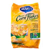 Пластівці Start кукурудзяні натуральні 850г х12
