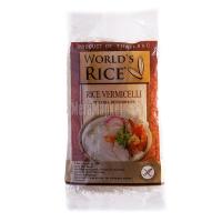 Вермішель World`s rice рисова 350г х24