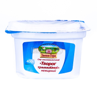 Сир Звенигора кисломол. нежирний 400г