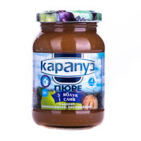 Пюре Карапуз яблуко-слива 200гр х12