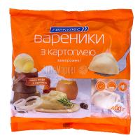 Вареники Геркулес із картоплею заморожені 400г