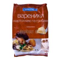 Вареники Геркулес із картоплею й грибами заморожені 900г