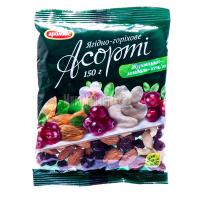 Асорті Аромикс ягідно-горіхове журавлина-мигдаль 150г х10