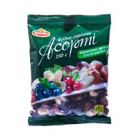 Асорті Аромікс ягідно-горіхове журавлина-фундук 150г