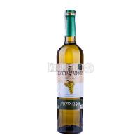 Вино Золота Амфора Тамянка біле напівсолодке 0.7л. х6