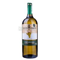 Вино Золота Амфора Тамянка біле напівсолодке 1,5л х6