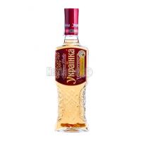 Настоянка Українка медова з перцем 40% 0,5л