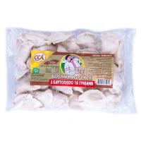 Вареники ОСА із грибами й картоплею 700г х20