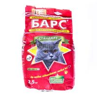 Наповнювач для котів Барс №7 2,5кг х6