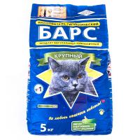 Наповнювач для котів Барс №1 5кг х6
