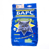 Наповнювач для котів Барс №6 2,5кг х6