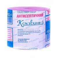 Туалетний папір Кохавинка Антисептичний, 1 шт.