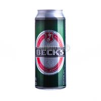 Пиво Becks з/б 0.5л